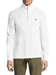 Polo Ralph Lauren Mercerized Cotton Pullover White