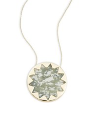 House Of Harlow Jade Stone Necklace