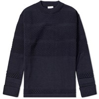 S.N.S. Herning Fisherman Crew Sweat Blue