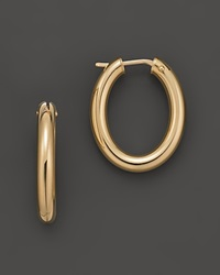 Roberto Coin 18 Kt. Yellow Gold Small Hoop Earrings No Color