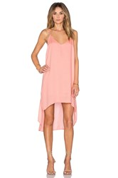 Bella Dahl High Low Hem Dress Coral