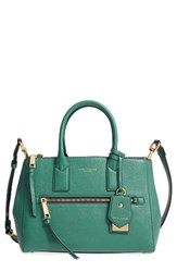 Marc Jacobs Recruit East West Pebbled Leather Tote Blue Hazy Blue