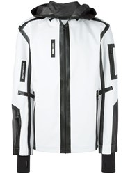 Puma Zipped Hooded Jacket White