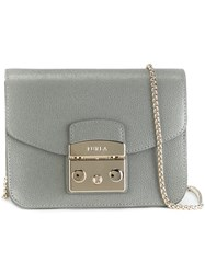 Furla Chain Strap Crossbody Bag Green