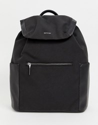 Matt And Nat Greco Laptop Backpack In Black