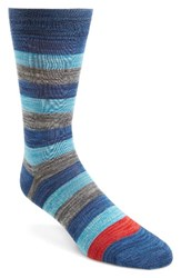 Paul Smith Men's Spaceman Stripe Socks