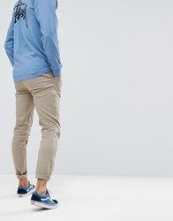 Your Turn Yourturn Relaxed Fit Chino In Brown Major Brown