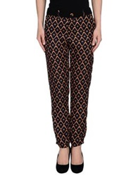 Anonyme Designers Casual Pants Dark Blue
