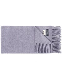 Acne Studios Canada Narrow Scarf Purple