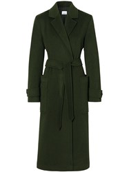 Burberry Belted Mid Length Coat 60