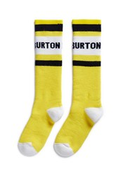 Burton X L.A.M.B. 'Party' Intarsia Socks Yellow