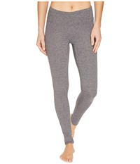 Threads For Thought Firefly Leggings Heather Charcoal Women's Clothing Gray