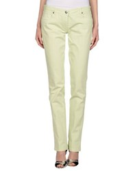 Re.Bell Denim Denim Trousers Women Light Green