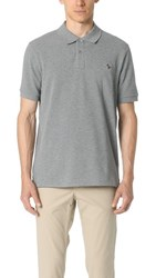 Paul Smith Ps By Regular Fit Zebra Polo Shirt Grey