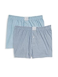 Michael Kors Two Pack Woven Boxers Spa