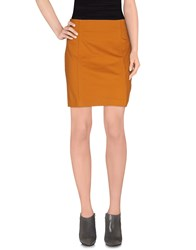 Mauro Grifoni Skirts Mini Skirts Women Brown