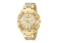 Versace Dylos Chrono Vqc04 0015 Yellow Gold