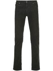 Ag Jeans Tellis Houndstooth Slim Fit Trousers 60