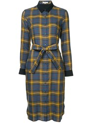 Guild Prime Checked Shirt Dress Multicolour