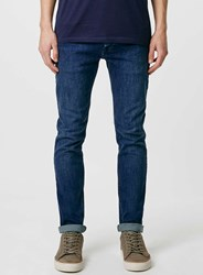 Topman Light Blue Vintage Wash Stretch Skinny Jeans