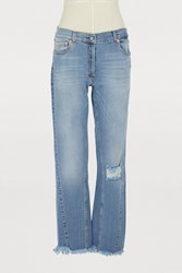 Magda Butrym Nelsonville Jeans Blue