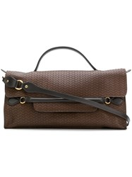 Zanellato Embossed Nina Bag Brown