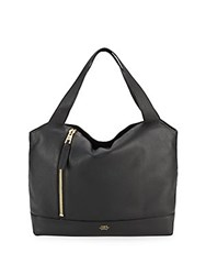 Vince Camuto Leather Hobo Bag Black