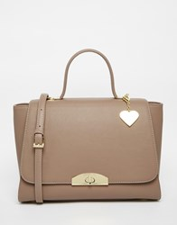 Marc B Grab Bag With Top Handle In Mushroom Mushroom Grey