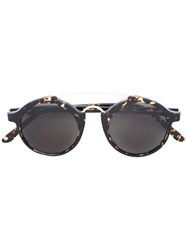 L.G.R Calabar Sunglasses Men Acetate Metal One Size Brown