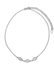 Argentovivo Sterling Silver Filigree Choker Necklace