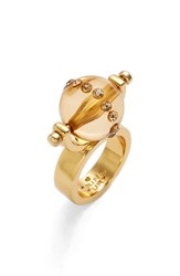 Women's Trina Turk Moveable Ball Ring
