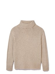Daughter The Rib Collar Tunic Knit Neutral