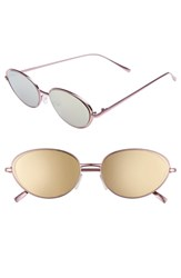 Leith 57Mm Oval Sunglasses Pink