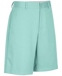 Greg Norman For Tasso Elba Men's Microfiber Golf Shorts Creamy Aqua