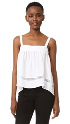 Jenni Kayne Gathered Band Cami White
