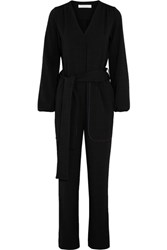 See By Chloe Crepe Jumpsuit Black
