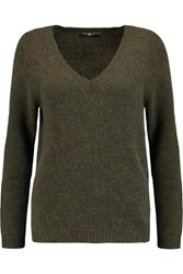7 For All Mankind The Boyfriend Cashmere Sweater Green