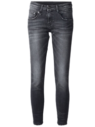 R 13 R13 Cropped Skinny Jeans