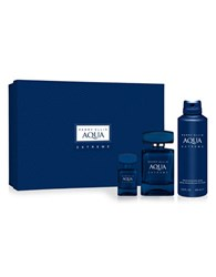 Perry Ellis Aqua Extreme Gift Set 95.00 Value No Color