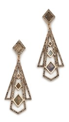 Lulu Frost Odeon Statement Earrings Gold