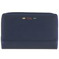 Tula Violet Leather Purse Navy