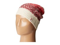 The North Face Tribe N True Beanie Vintage White Biking Red Beanies