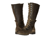 Timberland Wheelwright Tall Lace Waterproof Boot Dark Brown Suede Women's Waterproof Boots