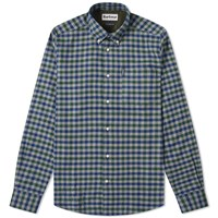 Barbour Country Check Shirt Green