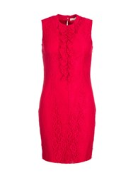 Relish Lace Dress Red