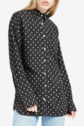 R 13 R13 Women S Skull Print Shirt Boutique1 Black