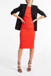 Roland Mouret Abersley Dress Orange