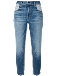 Alexander Wang Cropped Jeans Blue