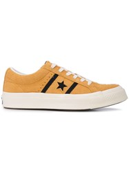 Converse Side Logo Sneakers Yellow