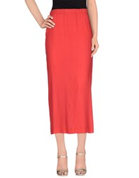 M.F.T Skirts Long Skirts Women Coral